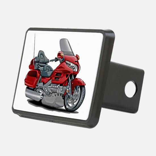 Goldwing Red Bike Hitch Cover