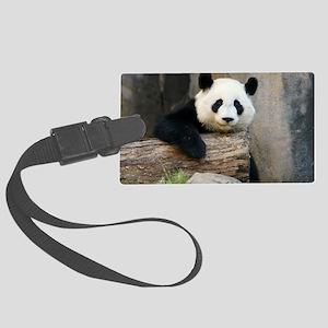 panda3 Large Luggage Tag