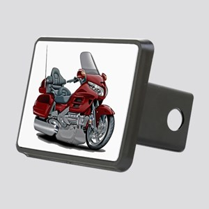 Goldwing Maroon Bike Rectangular Hitch Cover