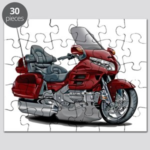 Goldwing Maroon Bike Puzzle