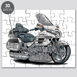 Goldwing White Bike Puzzle