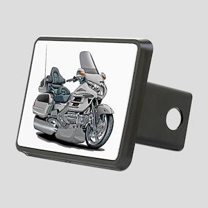 Goldwing Silver Bike Rectangular Hitch Cover