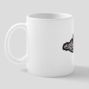 wyoming white letters Mug