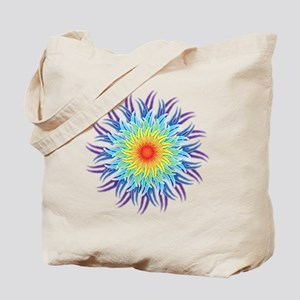 mandala7ChakrasShirt2 Tote Bag