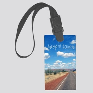 openroad_11x17_print Large Luggage Tag
