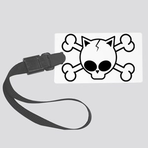 catskull-cp1 Large Luggage Tag