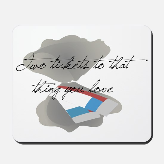 oldspicetwoticketsyoulove Mousepad