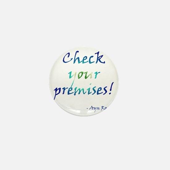 Check Your Premises Mini Button