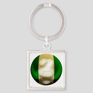 Nigeria World Cup 1 Square Keychain