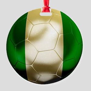 Nigeria World Cup 1 Round Ornament