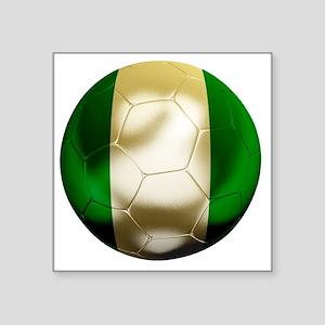 """Nigeria World Cup 1 Square Sticker 3"""" x 3"""""""