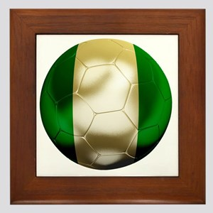 Nigeria World Cup 1 Framed Tile