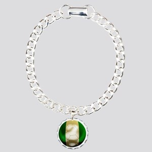 Nigeria World Cup 1 Charm Bracelet, One Charm