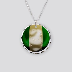Nigeria World Cup 1 Necklace Circle Charm