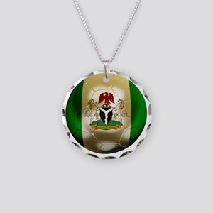 2-Nigeria World Cup 2 Necklace Circle Charm