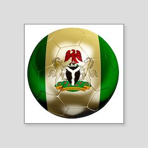 """2-Nigeria World Cup 2 Square Sticker 3"""" x 3"""""""