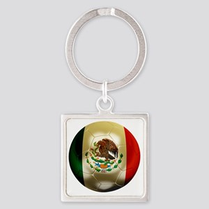 Mexico World Cup 1 Square Keychain