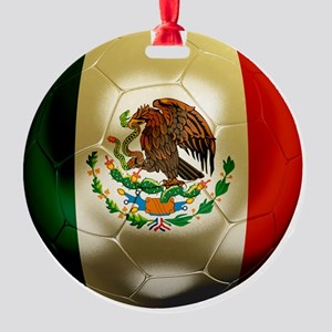 Mexico World Cup 1 Round Ornament