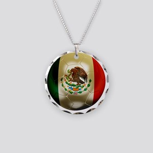 Mexico World Cup 1 Necklace Circle Charm