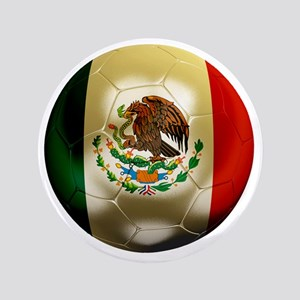 "Mexico World Cup 1 3.5"" Button"