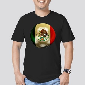Mexico World Cup 1 Men's Fitted T-Shirt (dark)