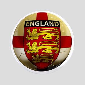 """England Football2 3.5"""" Button"""
