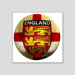 """England Football2 Square Sticker 3"""" x 3"""""""