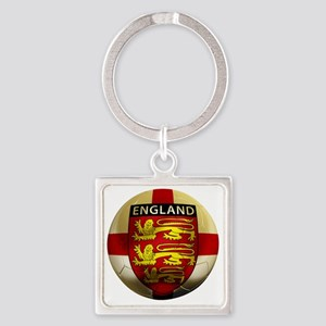 England Football2 Square Keychain