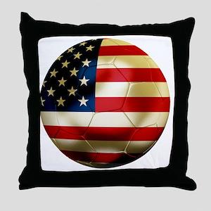 USAFootball1 Throw Pillow