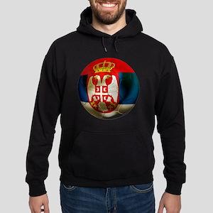 Serbia Football Hoodie (dark)