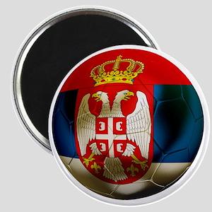 Serbia Football Magnet