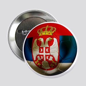 "Serbia Football 2.25"" Button"