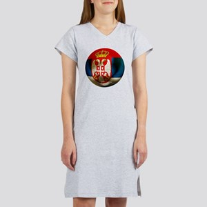 Serbia Football Women's Nightshirt