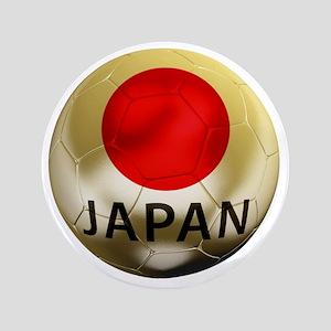 "Japan Football 3.5"" Button"