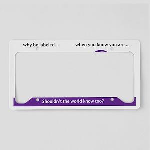 pkfull License Plate Holder