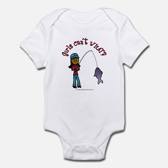 Dark Fishing Infant Bodysuit