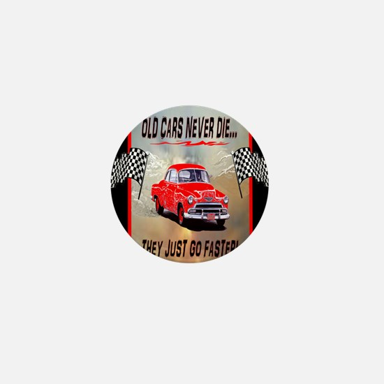 Old Cars Never Die! ( 5 x8) Journal Mini Button