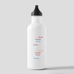 heavenhellDrk Stainless Water Bottle 1.0L