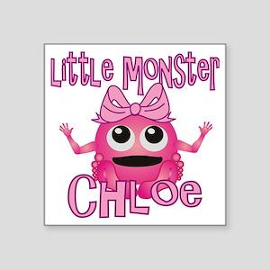 "chloe-g-monster Square Sticker 3"" x 3"""