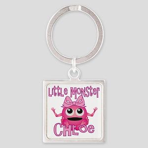 chloe-g-monster Square Keychain