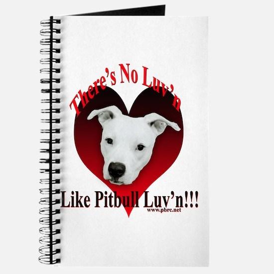 Pitbull Luv'n Journal