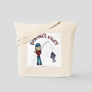 Light Fishing Tote Bag