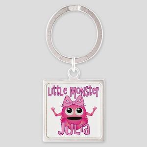 julia-g-monster Square Keychain