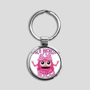 julia-g-monster Round Keychain