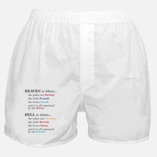 heavenhell Boxer Shorts