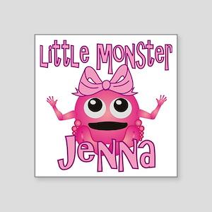 "jenna-g-monster Square Sticker 3"" x 3"""