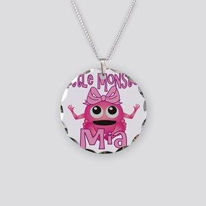 mia-g-monster Necklace Circle Charm