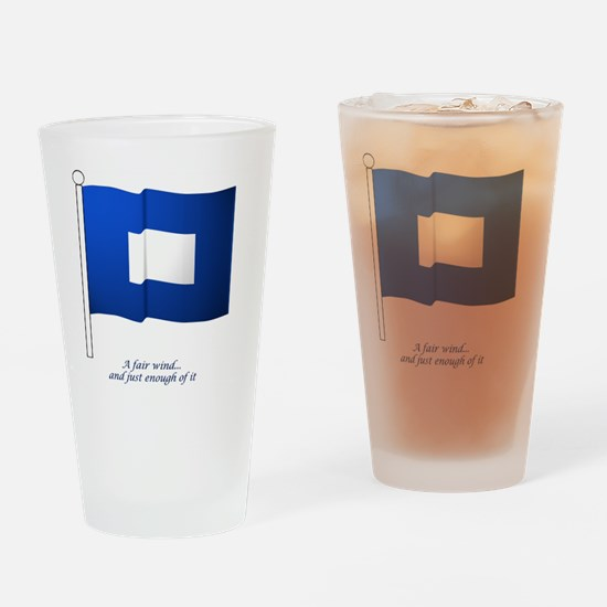 bluepeter[10x10_apparel] Drinking Glass