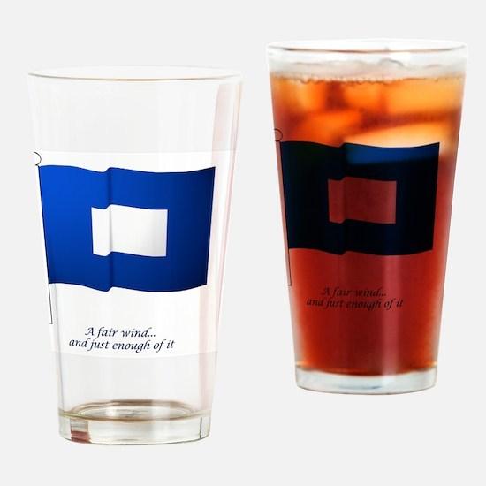 bluepeter[11.5x9_print] Drinking Glass