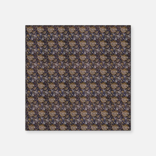 """William Morris Wey Square Sticker 3"""" x 3"""""""